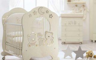 Детская мебель Italbaby — безопасная и удобная