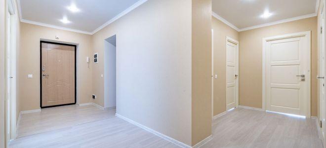 Как выполняют косметический ремонт квартиры в АСК Триан?