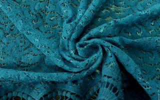 Как правильно выбрать ткань гипюр?