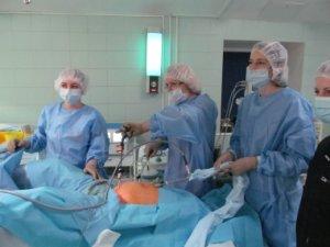 Лечение посредством лапароскопии