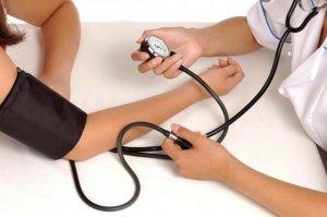 Высокое давление у пациентки